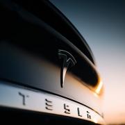 Tesla Logo on Trunk