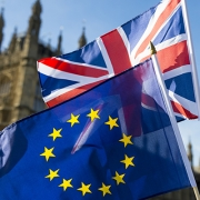 Europe & British Union Flags