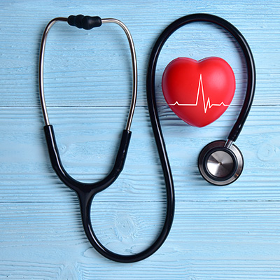Stethoscope Red Heart