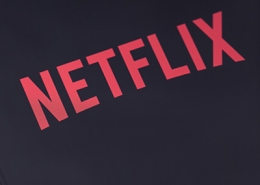 Netflix Logo on Screen
