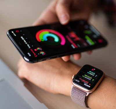 Apple Watch and Iphone Activity