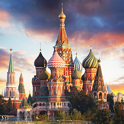 St. Basil's Cathedral Russia