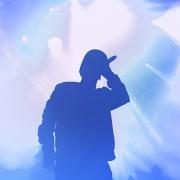 Hiphop Singer on Stage