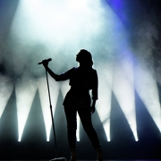 Female Singer Silhoutte