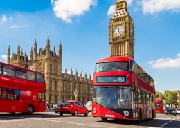 England Red Buses