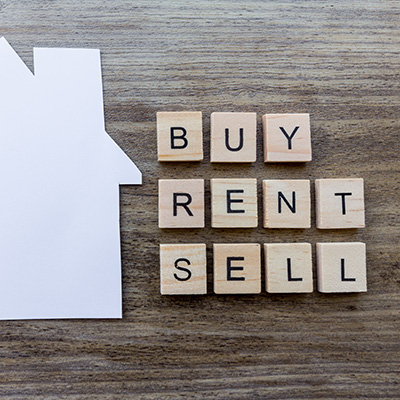 'Buy, Rent, Sell'