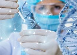 Scientists Study DNA