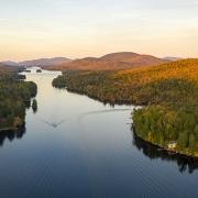 Lake Adirondack Park Mountains