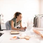 Self-Employed Woman