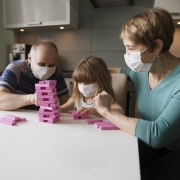 Playing Board Game with Masks on