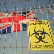 UK Coronavirus Warning Sign