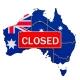 Australia Closed