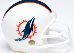 Miami Dolphins Helmet