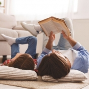 Two Women Reading