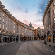 Empty Streets in UK