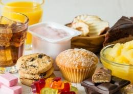 High Sugar Foods
