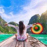 Woman Traveler in Thailand