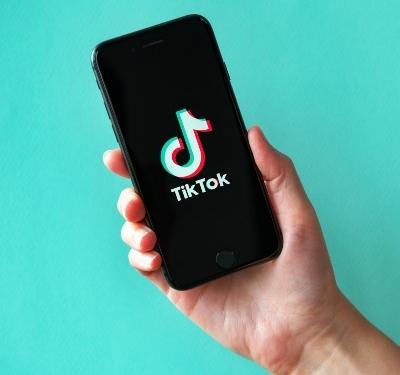 TikTok App on Phone