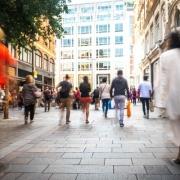 UK Busy Street