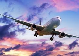 Air Travel in Sky