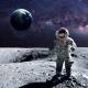 Astronat on Moon