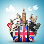 UK Travel Suitcase