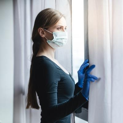 Woman in Quarantine