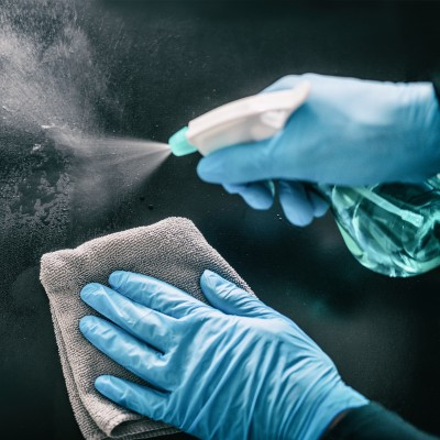 Sanitizing Surface