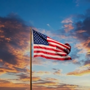 American Flag Waving (1)