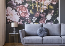 Flower Wallpaper in Home