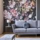 Flower Wallpaper in Home