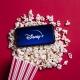 Disney+ Logo and popcorn