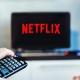 Netflix on TV Screen