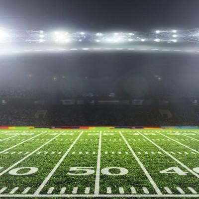 Football Stadium Field