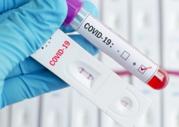 Two Positive Covid Tests