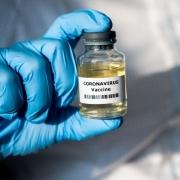 Coronavirus Vaccine Bottle