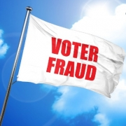 Voter Fraud Flag