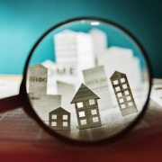 Magnify Glass of Real Estate Market