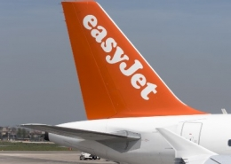 Close Up easyJet Plane