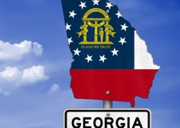 State of Georgia Sign