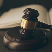 Law Suit Concept