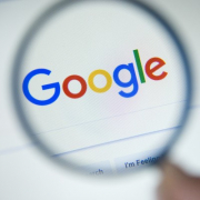 Google with Magnify Glass