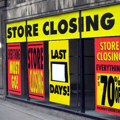 Closed Department Store