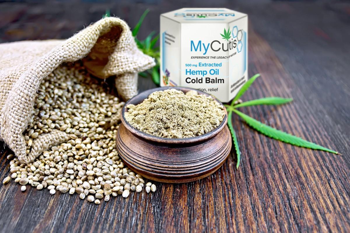 MyCutis Hemp Oil Cold Balm