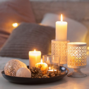 Candles in the Home