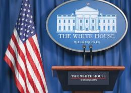 The White House Podium