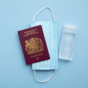 UK Passport and Mask